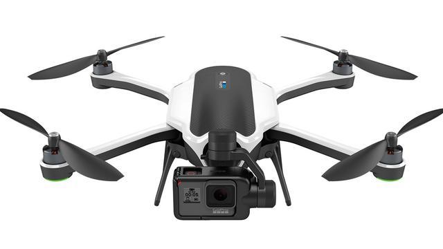 GoPro onthult opvouwbare drone en nieuwe actiecamera's