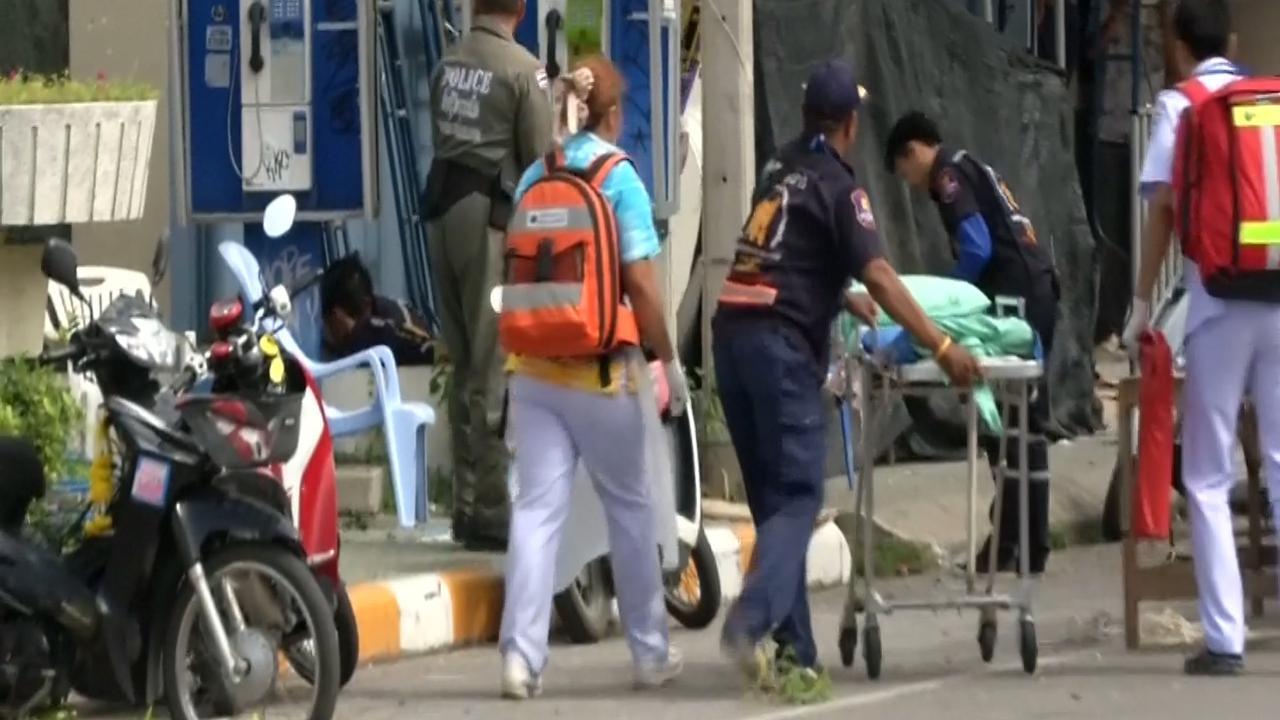 Thailand opgeschrikt door serie bomaanslagen
