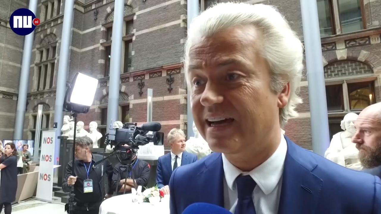 Wilders: 'Het was alsof ik in de Efteling zat'