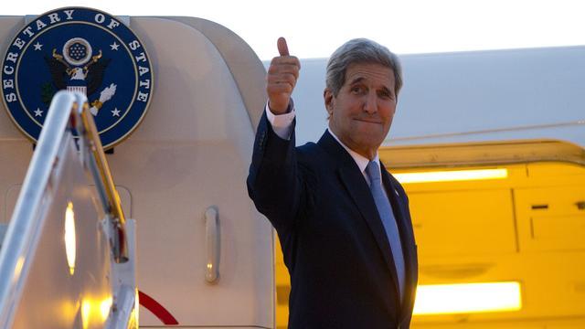 John Kerry naar Emiraten over Syrië