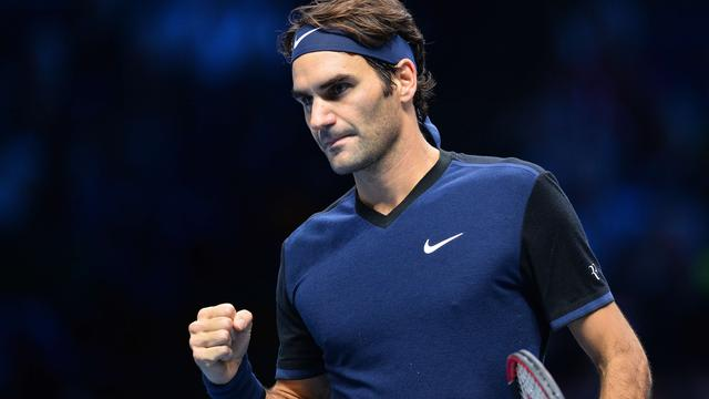 Federer wint van Berdych, Djokovic verslaat Nishikori bij World Tour Finals