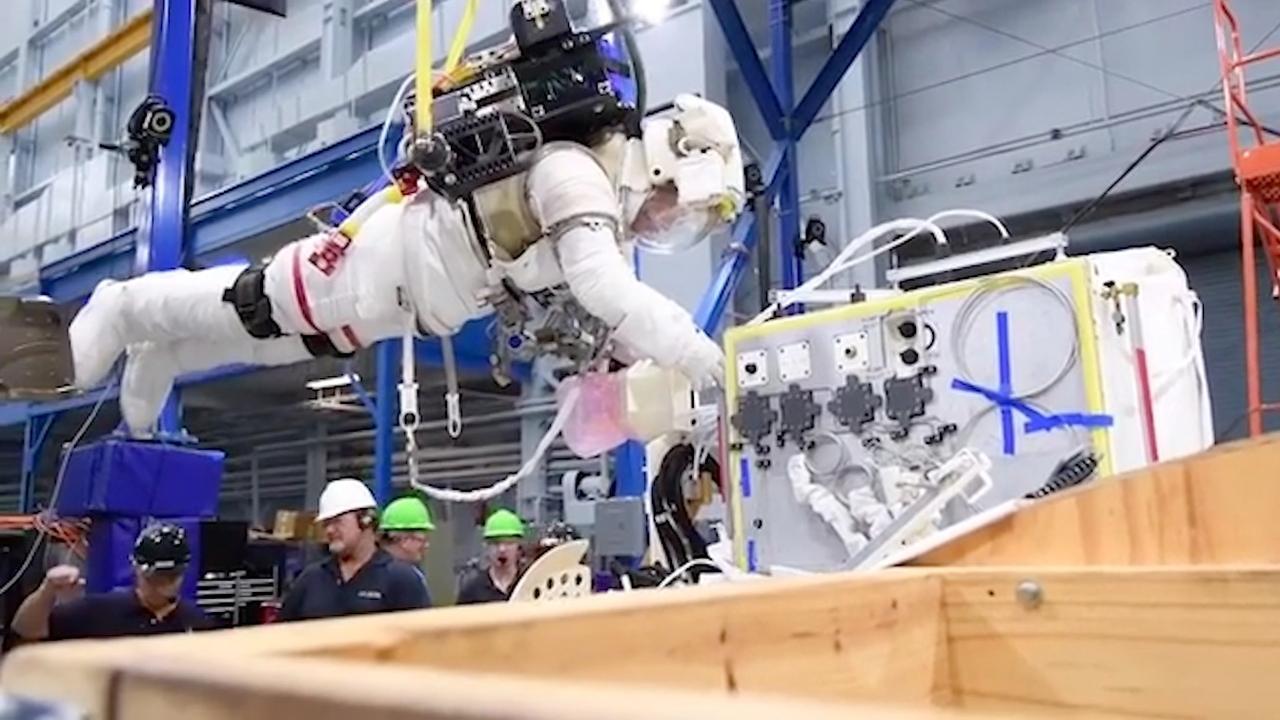 NASA deelt beelden van ruimte-oefening op aarde