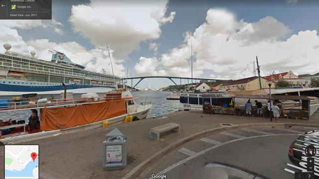 Curaçao op Google Street View te bekijken