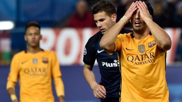 Titelverdediger Barcelona uitgeschakeld in Champions League