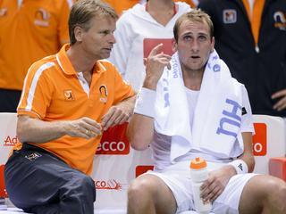 Wawrinka en Federer te sterk voor Nederlanders