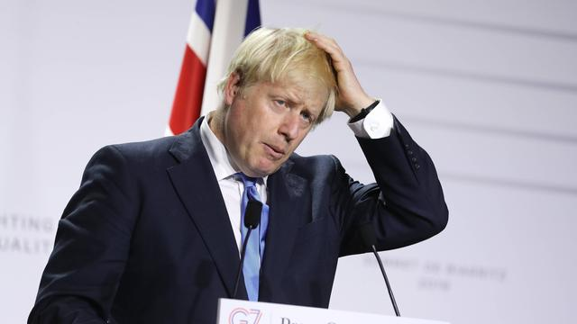 Bijpraten over Brexit:Johnson in de problemen, Brussel kijkt met argusogen toe
