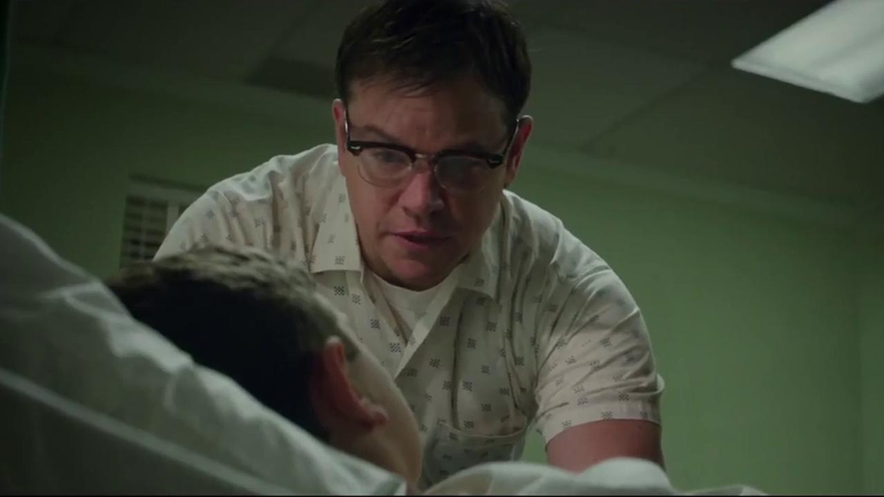 Matt Damon neemt wraak op crimineel in trailer Suburbicon