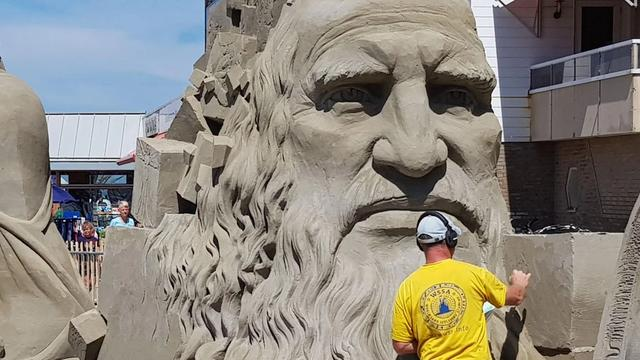 Negende editie EK zandsculpturen in Zandvoort verplaatst naar oktober