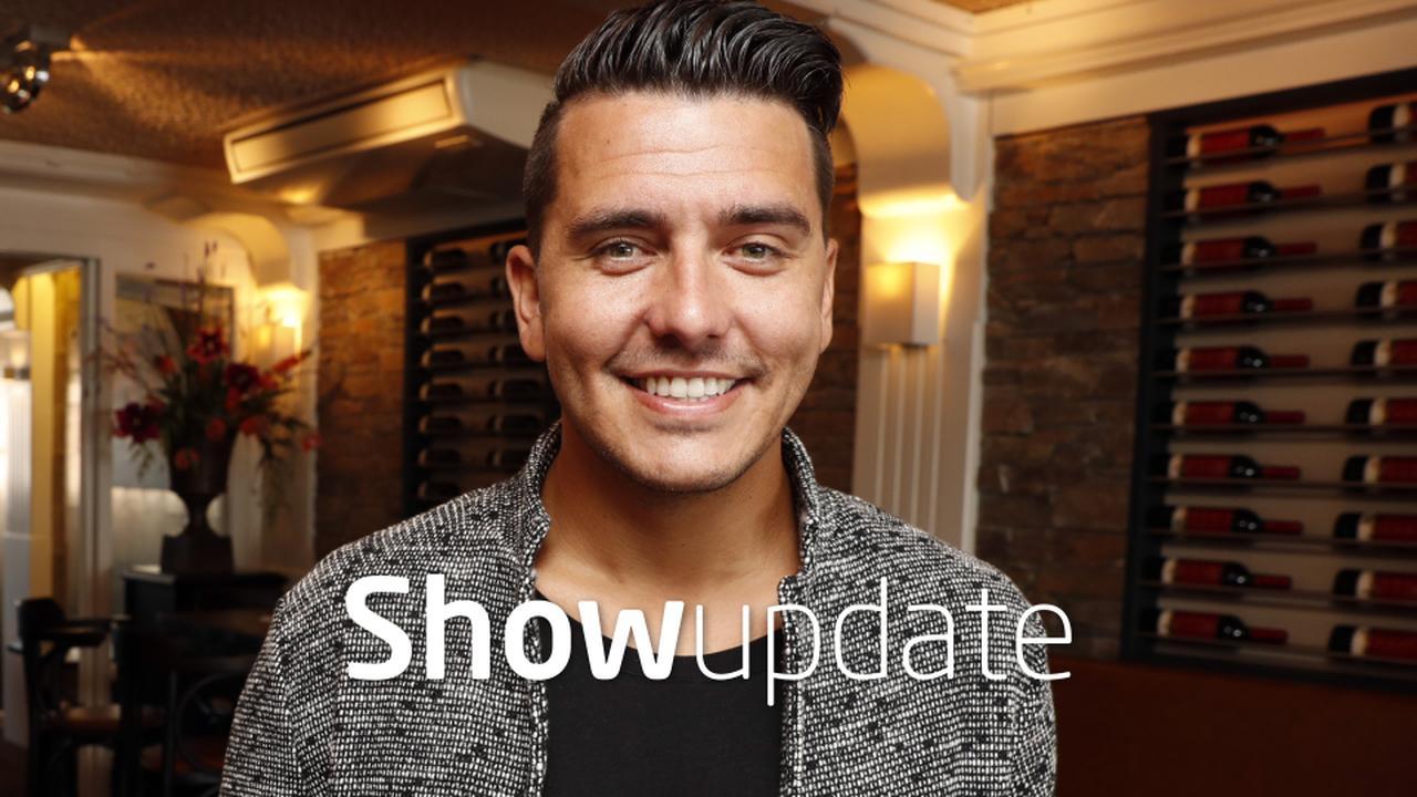 Show Update: Flinke koorts zoontje Jan Smit