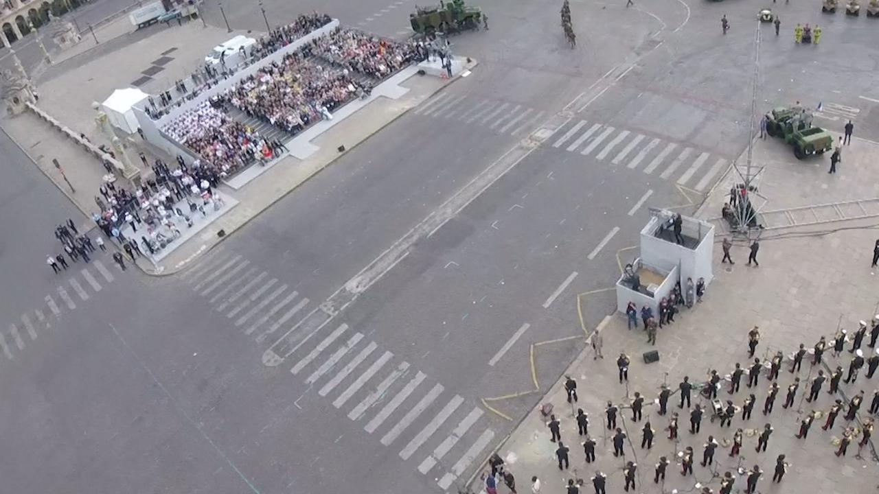 GoPro-beelden vanaf razendsnel 'flyboard' Franse leger