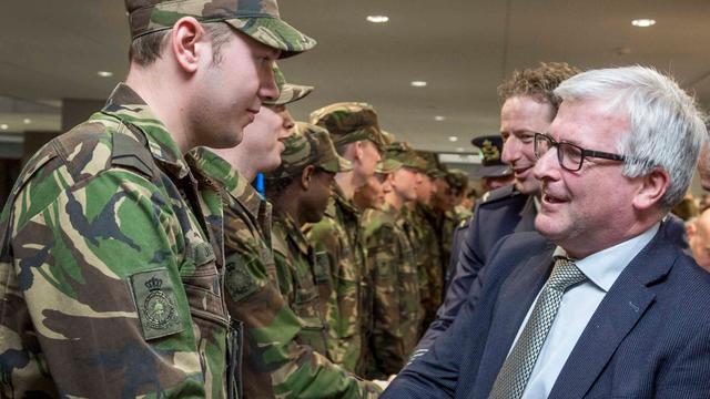'Woensdrechtse' militairen leggen eed af in provinciehuis