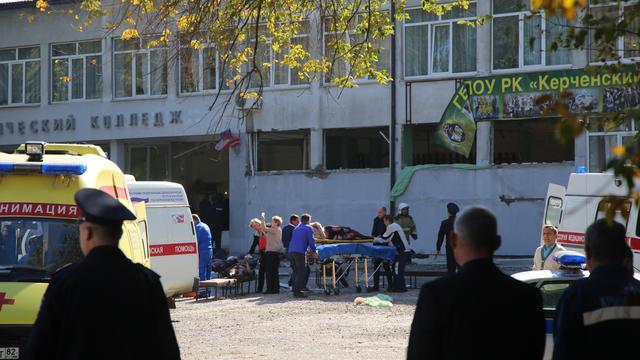 Zeker negentien doden na schietpartij op hogeschool in Krim