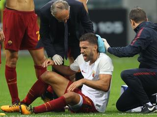 Middenvelder van AS Roma kampt met spierblessure