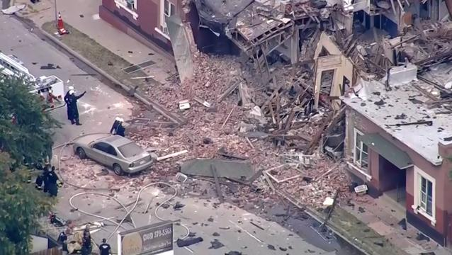 Enorme ravage na gasexplosie Denver