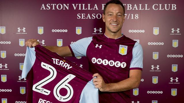 Transfervrije Terry (36) verbindt zich voor een jaar aan Aston Villa