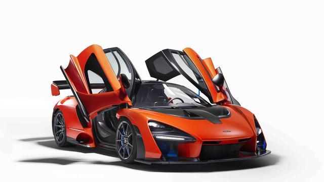 Vier exemplaren McLaren Senna naar Nederland