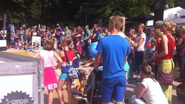 Laatste dag voor Noorderzon Festival
