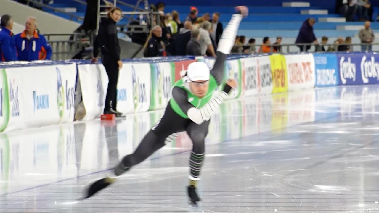 'Roest en De Jong kleuren spectaculaire start schaatsseizoen'