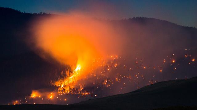 Opgelaaide bosbranden Californië brengen meer schade aan