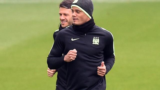 Kompany hervat groepstraining bij Manchester City