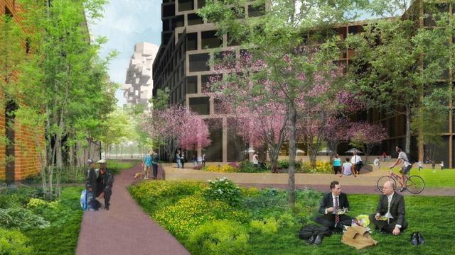 Amsterdam bouwt nieuwbouwwijk met 1.350 woningen op de Zuidas