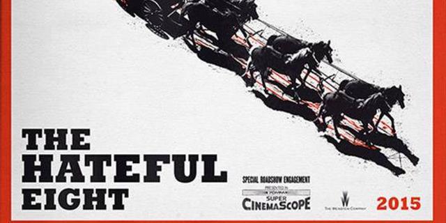 The Hateful Eight van Quentin Tarantino verschijnt in januari