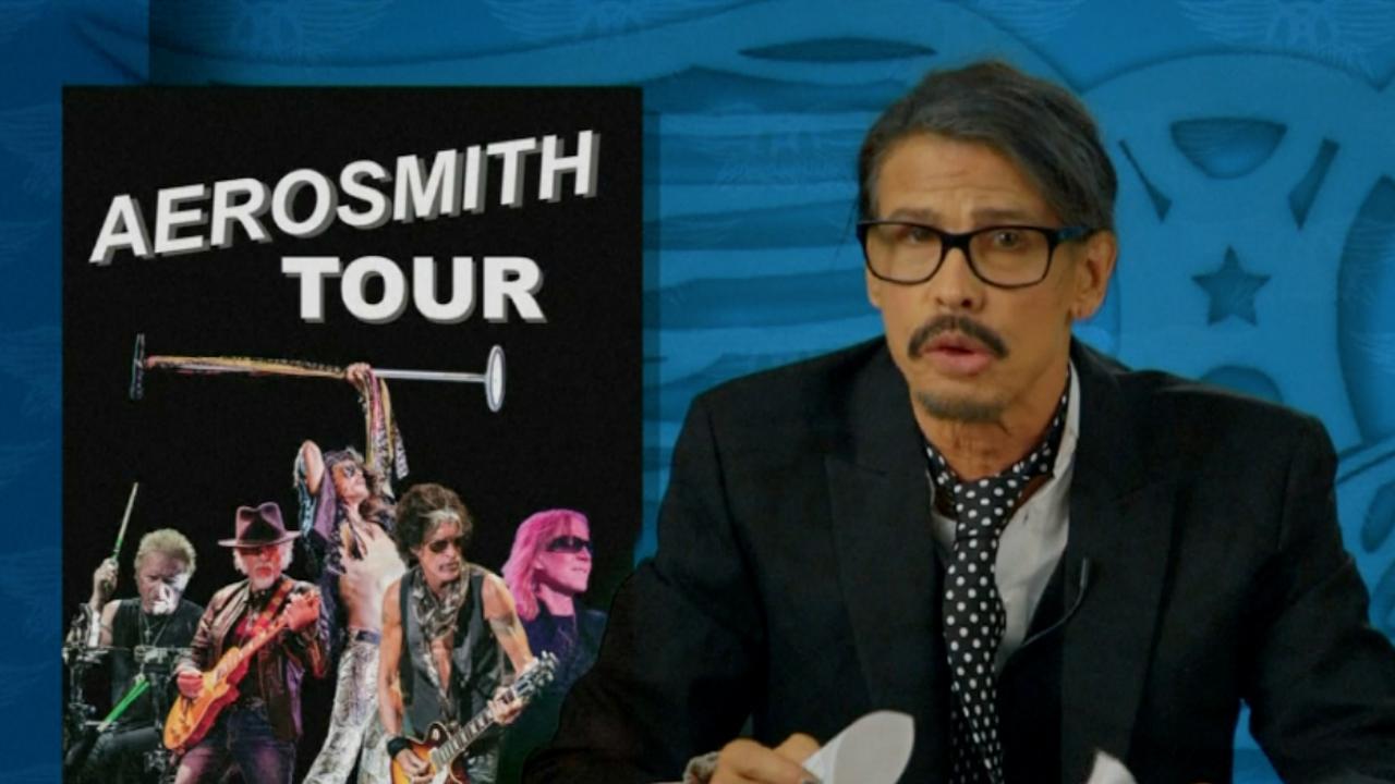 Aerosmith kondigt laatste tour aan tijdens 'nieuwsbulletin'