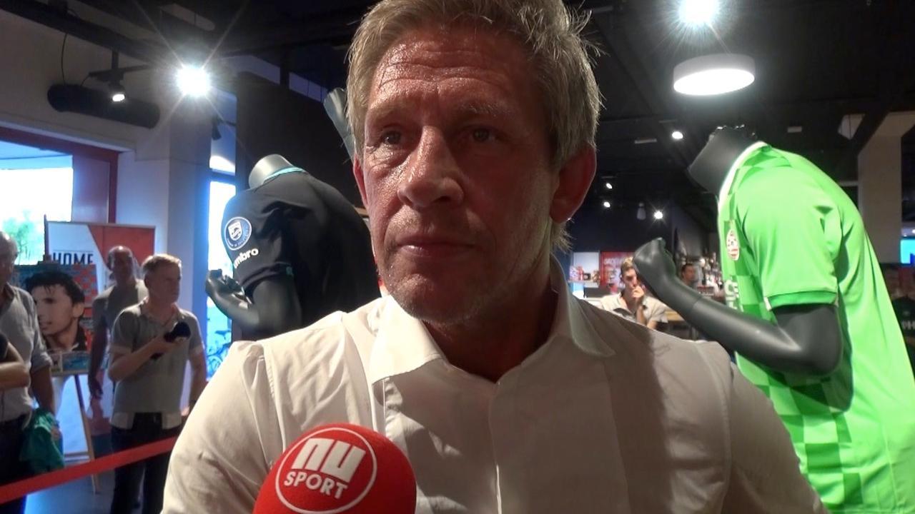 Technisch directeur Brands over loting PSV: pittig, maar leuk