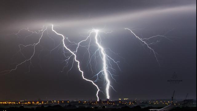 Code geel in noorden van het land, onweersbuien verwacht