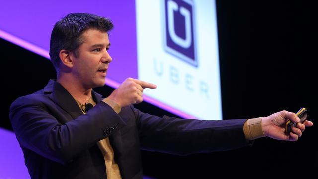 Taxi-app Uber voorlopig nog niet naar de beurs