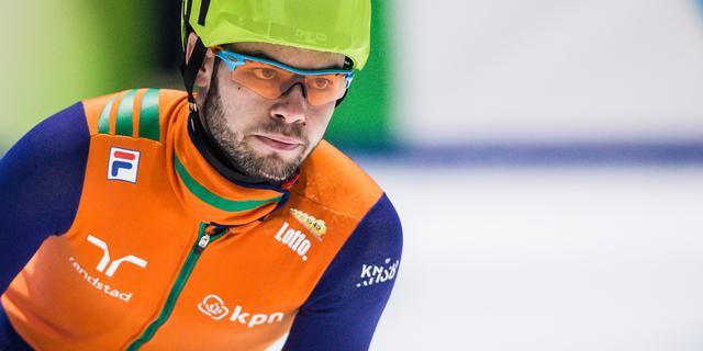 Knegt pakt brons op 1500 meter bij wereldbeker in Dresden