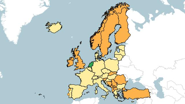 Reisadviezen Porto en Lissabon weer oranje