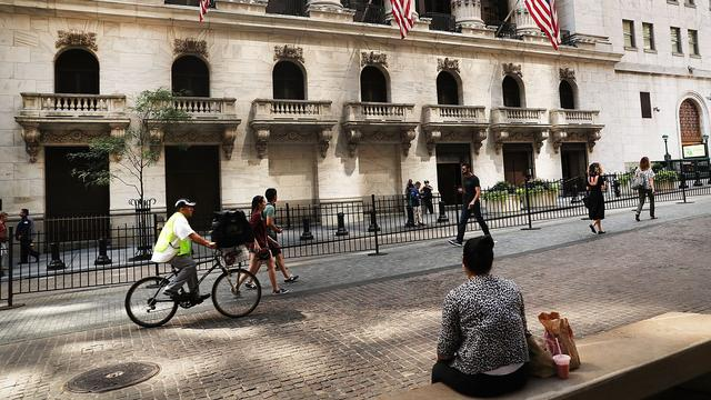 Wall Street opent hoger na banencijfer Verenigde Staten