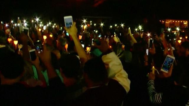 Honderden herdenken slachtoffers schietpartij Florida