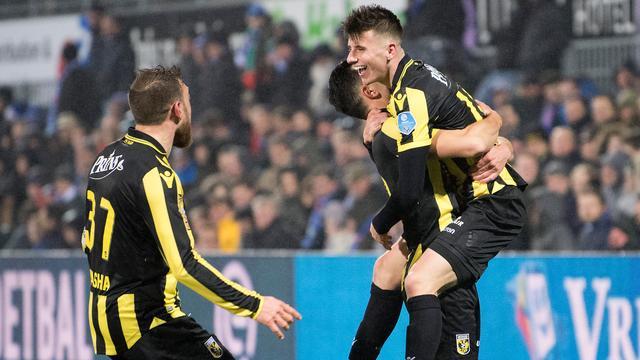 Mount schiet Vitesse in Zwolle met prachtige vrije trap langs PEC