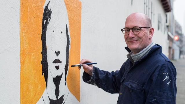 Utrechter Rob Heerdink maakt prachtig eerbetoon aan Johan Cruijff