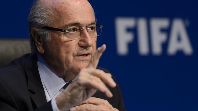 Sponsoren tevreden over vertrek Blatter bij FIFA