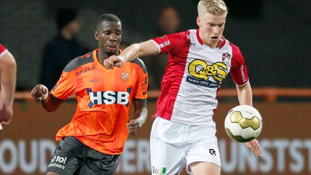 Koploper FC Volendam onderuit, NAC wint topper van Sparta