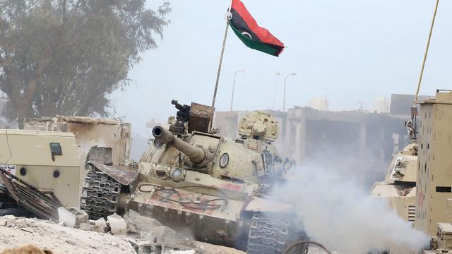 'Libische regeringstroepen heroveren havenstad Sirte op IS'
