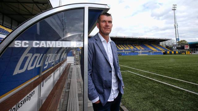 Dijkhuizen nieuwe hoofdtrainer van SC Cambuur