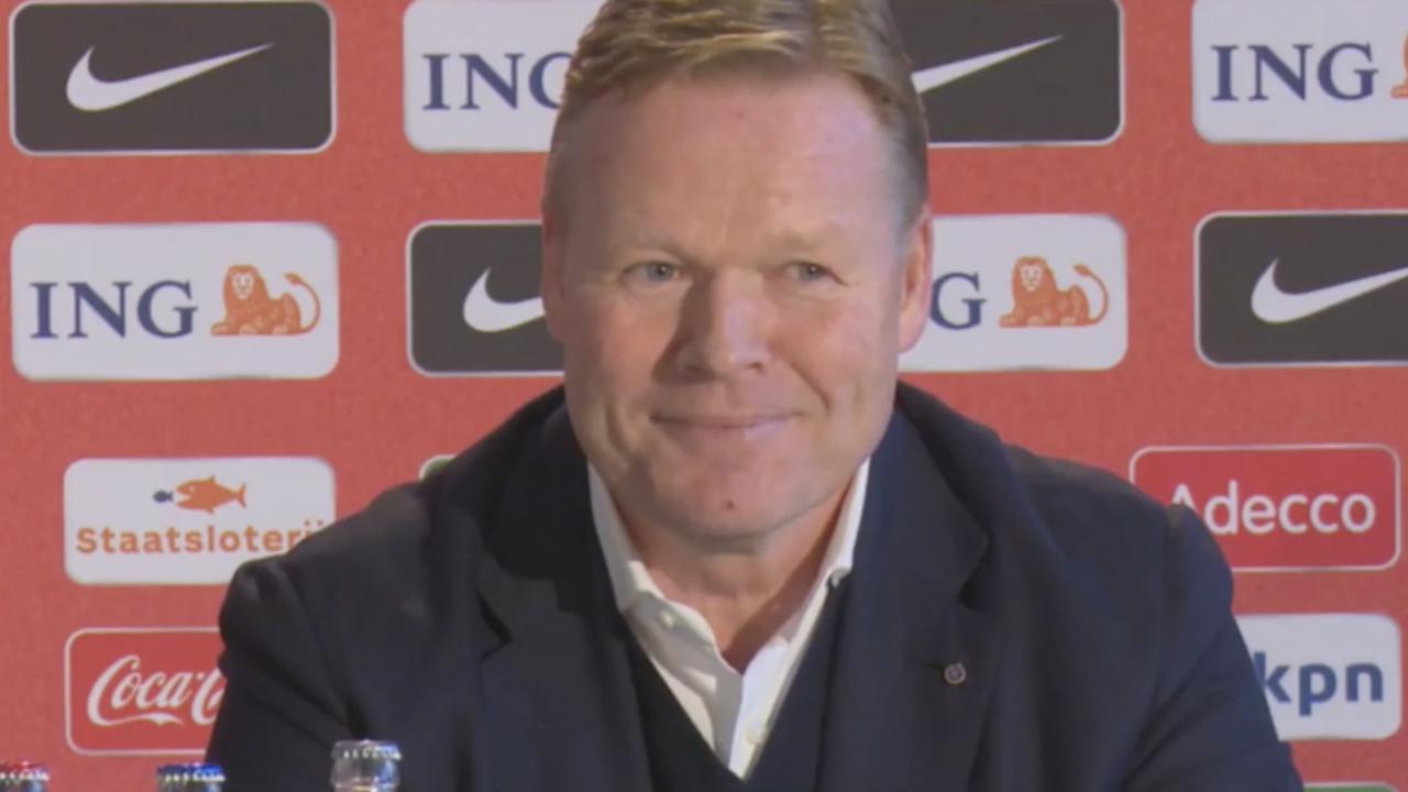 Koeman denkt dat hij 'heel goed team' kan formeren bij Oranje