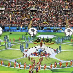 WK in Rusland officieel van start met openingsceremonie
