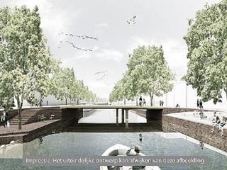 Nieuwe brug en meer groen