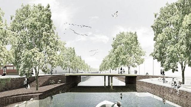 Dit zijn de plannen voor de nieuwe Kattenbrug in Groningen