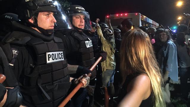 Tientallen arrestaties en negen gewonden bij rellen North Carolina