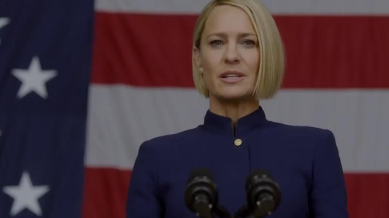 Claire Underwood president in trailer nieuw seizoen House of Cards