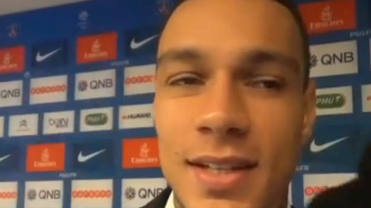Van der Wiel blij met sterke wedstrijd Paris Saint-Germain