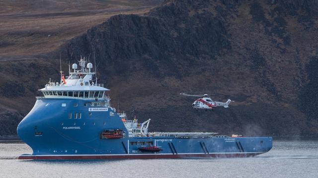 Wrak neergestorte Russische helikopter gevonden bij Spitsbergen