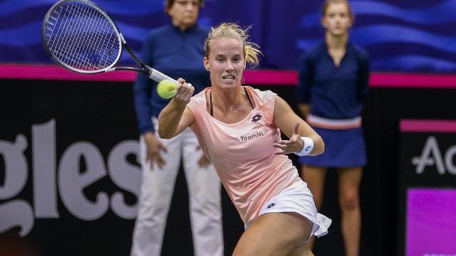 Hogenkamp en Rus naar tweede voorronde Roland Garros, Griekspoor eruit