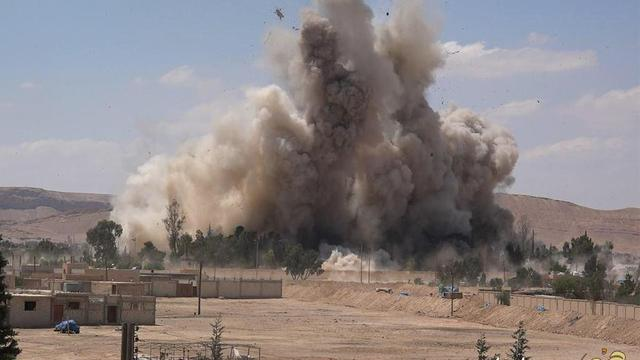'Opnieuw verwoestingen in Palmyra door IS'